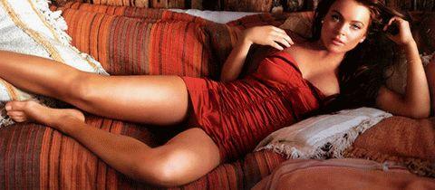 Lindsay Lohan / Линдси Лохан голая обнаженная фото